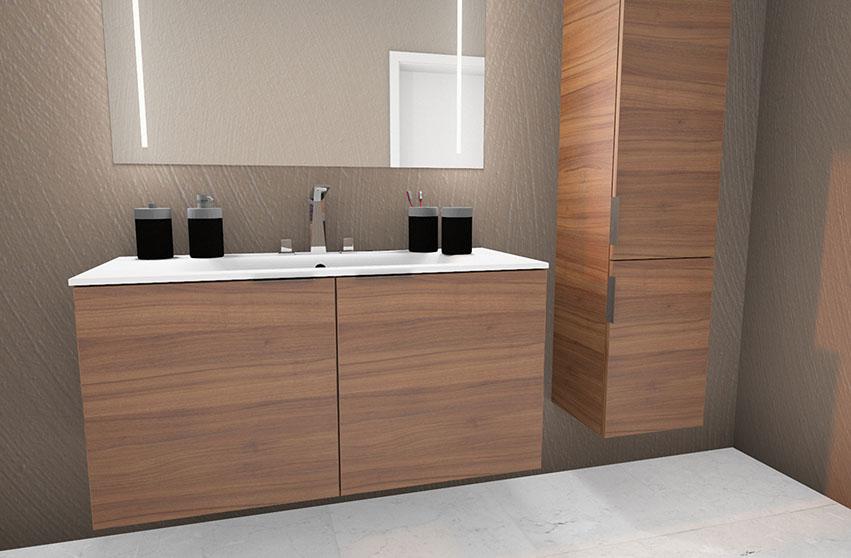 Kolomkast Voor Badkamer : Meubels aqua linea badkamers