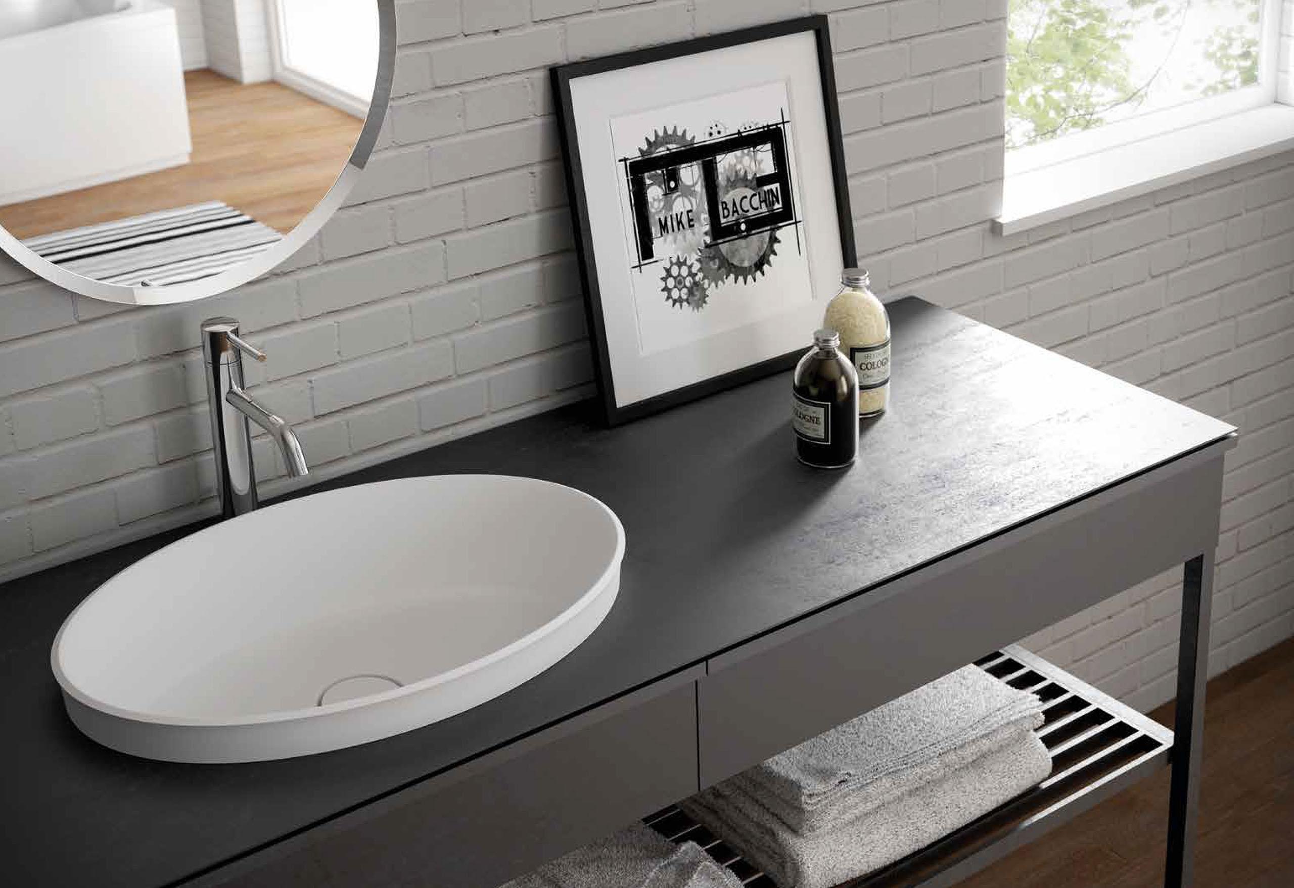 Rechthoekig Ontwerp Badkamer : Italiaanse badkamers abstract en gedurfd