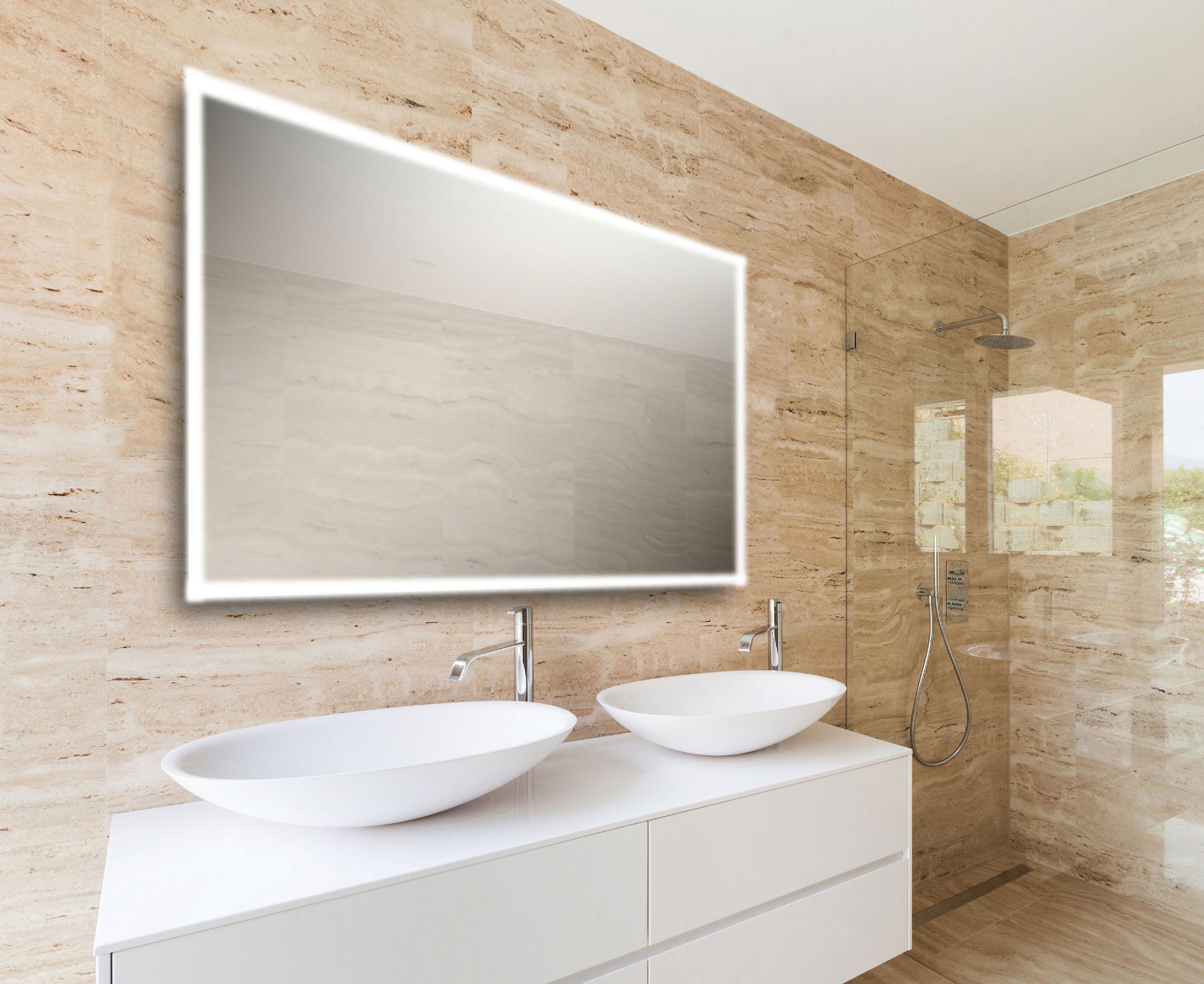 Spiegels aqua linea badkamers